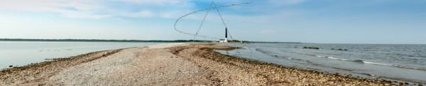 Panorama eines Leuchtturms auf Saaremaa