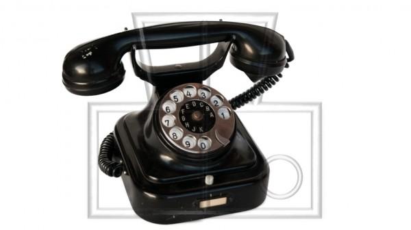 benutztes altes Telefon